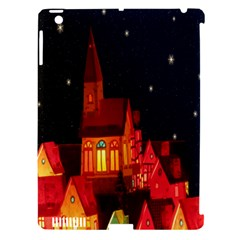 Market Christmas Light Apple Ipad 3/4 Hardshell Case (compatible With Smart Cover)