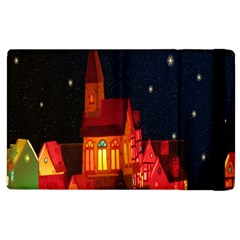 Market Christmas Light Apple Ipad 3/4 Flip Case