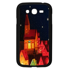 Market Christmas Light Samsung Galaxy Grand DUOS I9082 Case (Black)