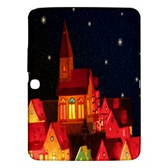 Market Christmas Light Samsung Galaxy Tab 3 (10 1 ) P5200 Hardshell Case