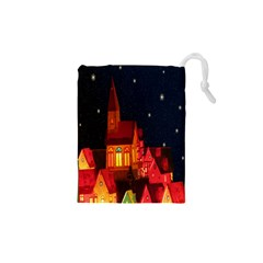 Market Christmas Light Drawstring Pouches (xs)