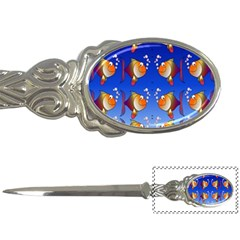 Illustration Fish Pattern Letter Openers