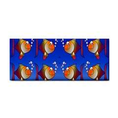 Illustration Fish Pattern Cosmetic Storage Cases