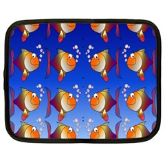 Illustration Fish Pattern Netbook Case (XXL)