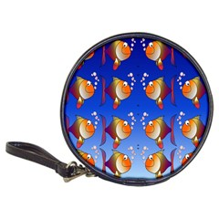 Illustration Fish Pattern Classic 20-CD Wallets