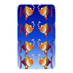 Illustration Fish Pattern Memory Card Reader