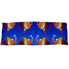 Illustration Fish Pattern Body Pillow Case (dakimakura)