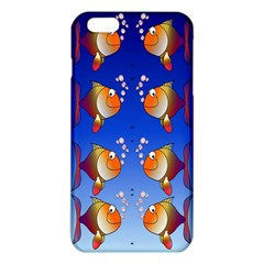Illustration Fish Pattern Iphone 6 Plus/6s Plus Tpu Case