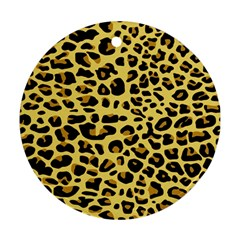 Jaguar Fur Ornament (Round)
