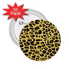 Jaguar Fur 2.25  Buttons (10 pack)