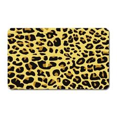 Jaguar Fur Magnet (Rectangular)