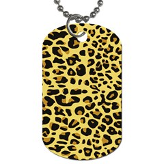 Jaguar Fur Dog Tag (Two Sides)