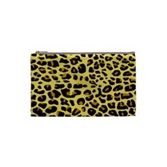 Jaguar Fur Cosmetic Bag (small)