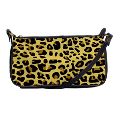 Jaguar Fur Shoulder Clutch Bags