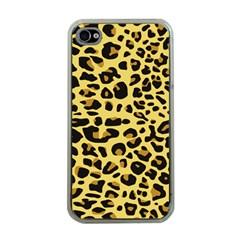 Jaguar Fur Apple iPhone 4 Case (Clear)