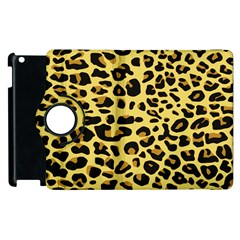 Jaguar Fur Apple iPad 3/4 Flip 360 Case