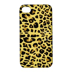 Jaguar Fur Apple Iphone 4/4s Hardshell Case With Stand