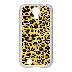 Jaguar Fur Samsung Galaxy S4 I9500/ I9505 Case (white)