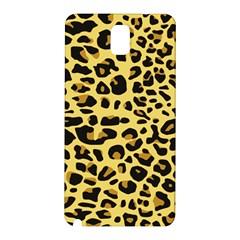 Jaguar Fur Samsung Galaxy Note 3 N9005 Hardshell Back Case
