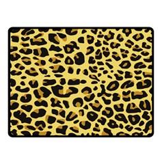 Jaguar Fur Double Sided Fleece Blanket (small)