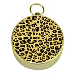 Jaguar Fur Gold Compasses