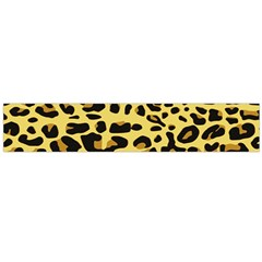 Jaguar Fur Flano Scarf (Large)