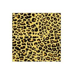 Jaguar Fur Satin Bandana Scarf