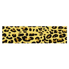 Jaguar Fur Satin Scarf (Oblong)