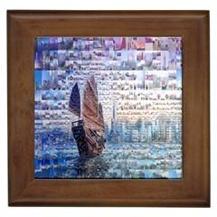 Hong Kong Travel Framed Tiles