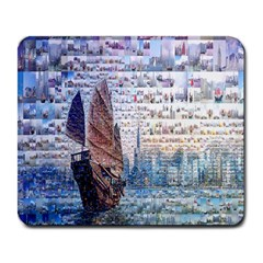 Hong Kong Travel Large Mousepads