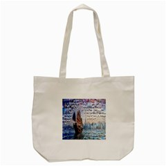 Hong Kong Travel Tote Bag (Cream)