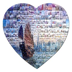 Hong Kong Travel Jigsaw Puzzle (Heart)