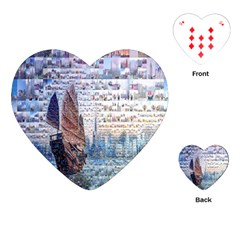 Hong Kong Travel Playing Cards (Heart)
