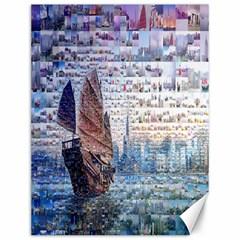 Hong Kong Travel Canvas 12  x 16