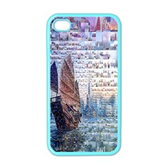 Hong Kong Travel Apple Iphone 4 Case (color)