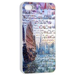 Hong Kong Travel Apple iPhone 4/4s Seamless Case (White)