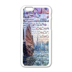 Hong Kong Travel Apple Iphone 6/6s White Enamel Case