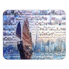 Hong Kong Travel Double Sided Flano Blanket (Large)