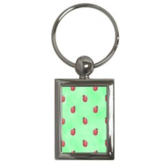 Ladybug Pattern Key Chains (Rectangle)