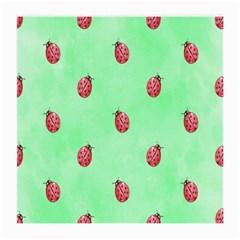 Ladybug Pattern Medium Glasses Cloth (2-Side)
