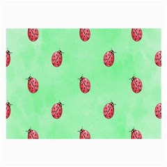Ladybug Pattern Large Glasses Cloth