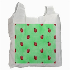 Ladybug Pattern Recycle Bag (Two Side)