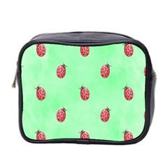 Ladybug Pattern Mini Toiletries Bag 2 Side