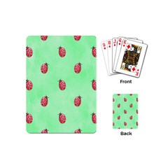 Ladybug Pattern Playing Cards (mini)