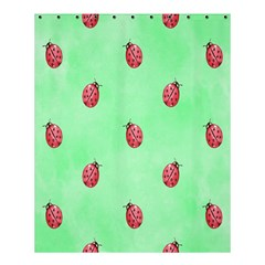 Ladybug Pattern Shower Curtain 60  X 72  (medium)