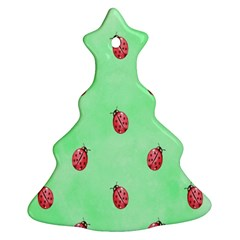 Ladybug Pattern Ornament (Christmas Tree)