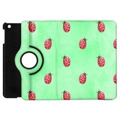Ladybug Pattern Apple iPad Mini Flip 360 Case