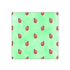Ladybug Pattern Satin Bandana Scarf