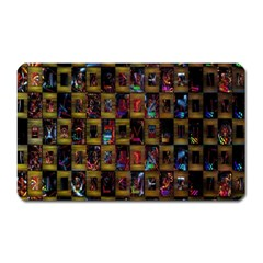 Kaleidoscope Pattern Abstract Art Magnet (Rectangular)