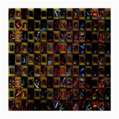 Kaleidoscope Pattern Abstract Art Medium Glasses Cloth (2-Side)